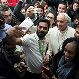 Pope asks youths to rejuvenate Church; youths ask to be heard