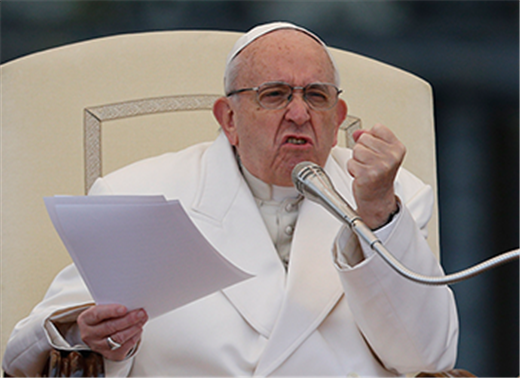 POPE'S MESSAGE | Leave Mass praising God, not gossiping about others, pope says