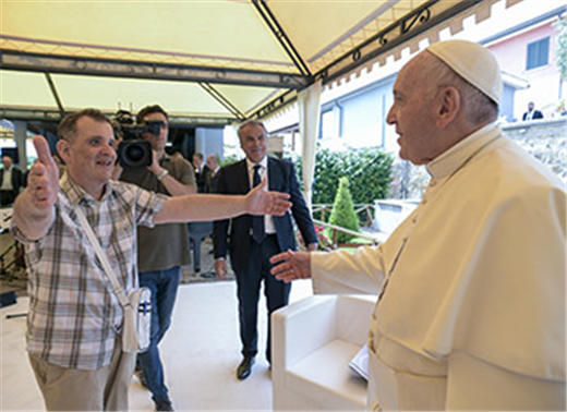 POPE'S MESSAGE | Faith is lived with joyous gratitude, not slavelike duty