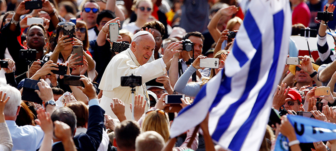 POPE'S MESSAGE | Faith says 'no' to Satan, 'yes' to God