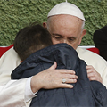 'Is dad in heaven?' little boy asks pope