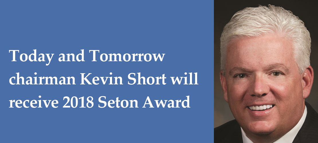 NCEA honors Kevin Short's lifetime of charitable service