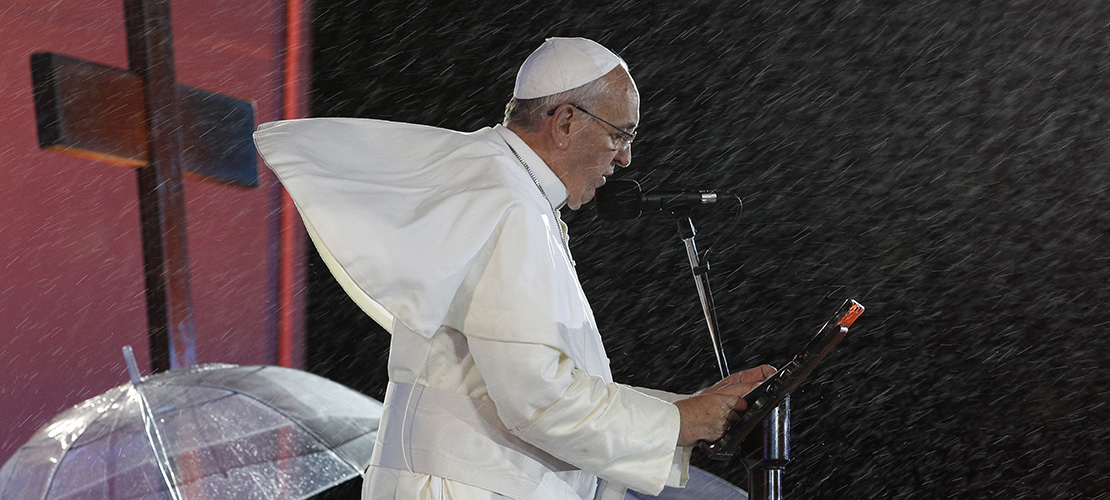 Pope Francis focuses on outreach, evangelization