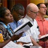 Upbeat choir from St. Pius V to sing at interfaith event