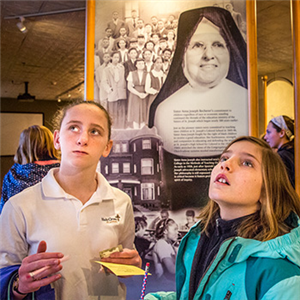 Holy Cross students get a glimpse of religious life