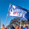"Generation Life pilgrims lead the charge in proclaiming that ""Love Saves Lives"" at annual March for Life"