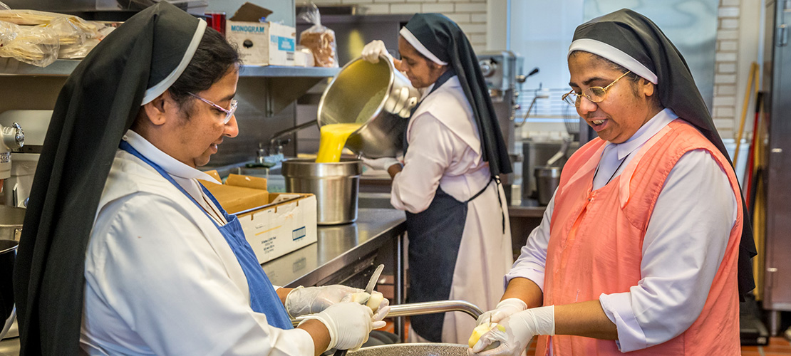 Carmelite sisters in St. Louis filled with hope seeing unity among people in native India after flooding in Kerala