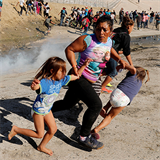 Migrants in Tijuana remain in unsettled situation after attempted crossing