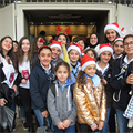 Christian, Muslim young people spread pre-Christmas cheer in Beirut