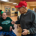 Missouri Veterans Home Christmas party brings Christmas spirit to retired vets