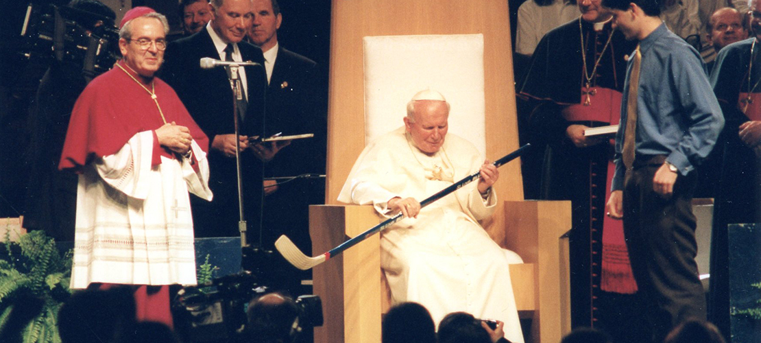 A look at John Paul II's visit to St. Louis, 20 years later