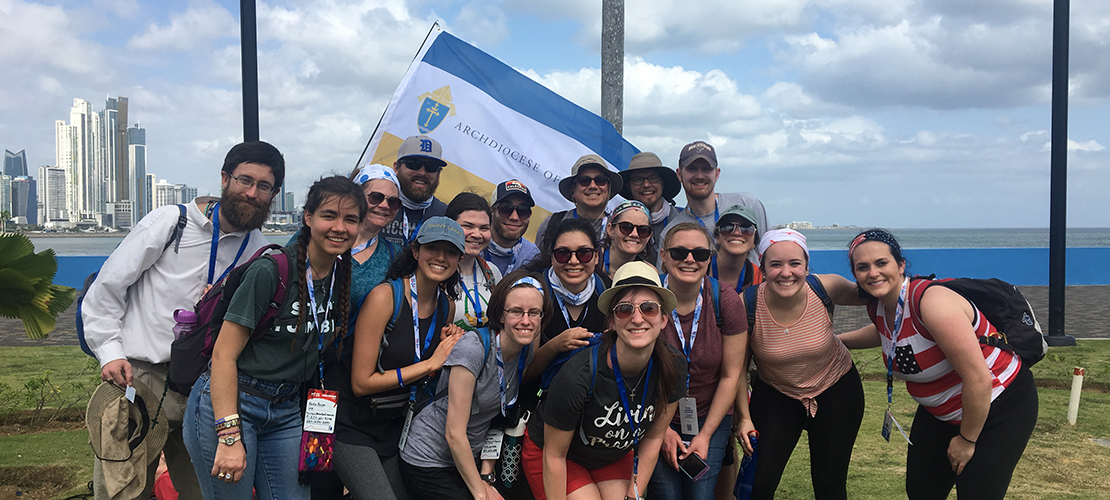 St. Louis pilgrims experience universal Church in Panama at World Youth Day