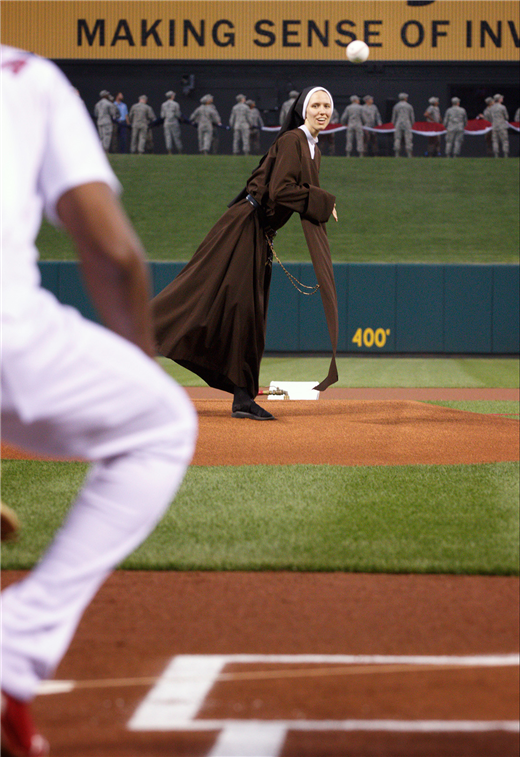 Serra Club night at Cards game is fun but also a pitch for vocations