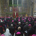 At penitential liturgy, pope, bishops look at what they have done, failed to do to prevent abuse