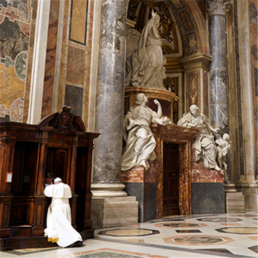 POPE'S MESSAGE | Prayer begins at the level of asking God for the necessities of life