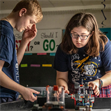 Research, critical thinking skills and teamwork are major components of robotics team's success at Sacred Heart in Valley Park