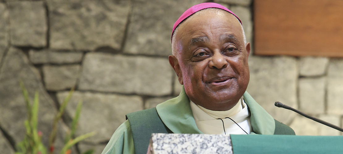 Archbishop Wilton Gregory named archbishop of Washington Archdiocese