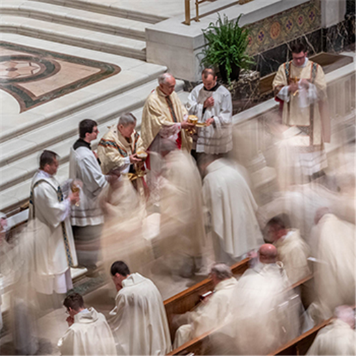 VISUAL VIEWPOINT | Manifestation of the unity of priests