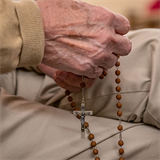 Weekly Rosary recitation brings residents together