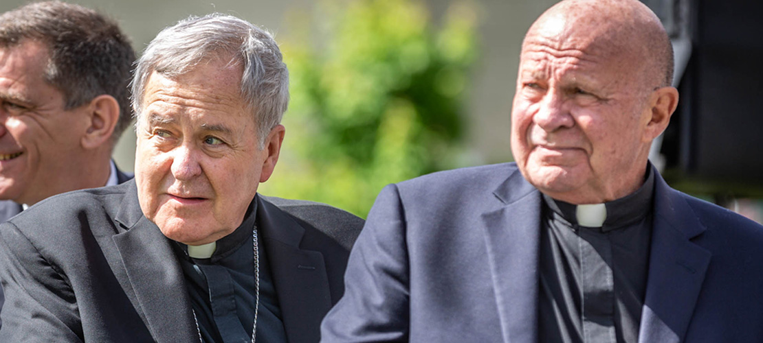 SLU, community leaders tout accomplishments of university's former president Fr. Lawrence Biondi