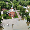 Flooding reaches town of Portage Des Sioux