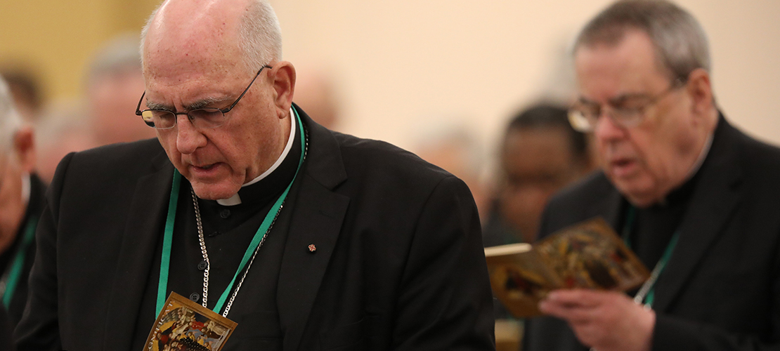 Response to abuse crisis looms large at U.S. Conference of Catholic Bishops' spring meeting