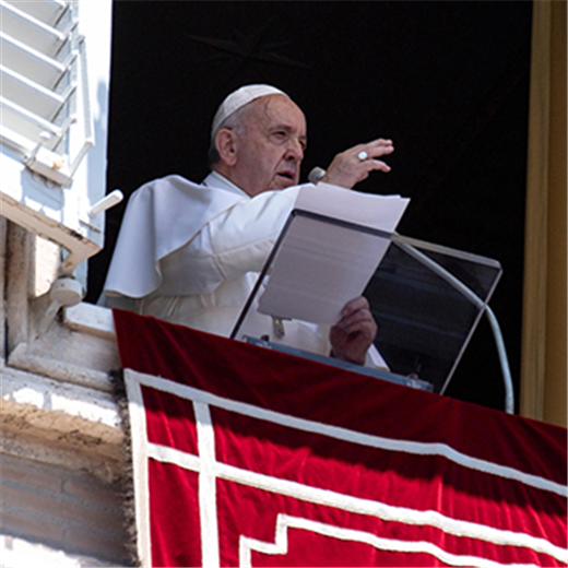 POPE'S MESSAGE | Jesus looks upon His Church with tenderness and love