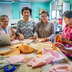 From bibs to bracelets: Forai teaches immigrant and refugee women employable skills to help them find a new start in a new country