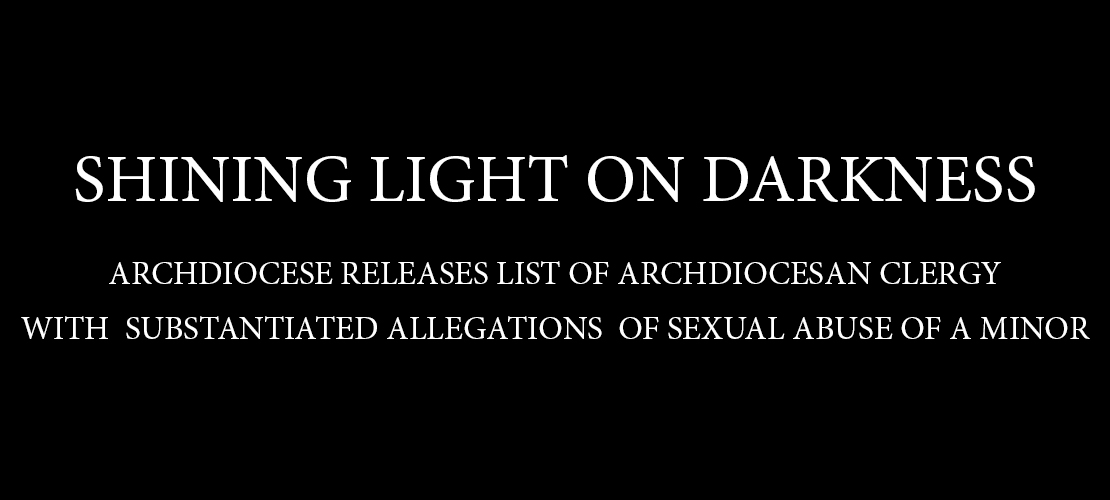 Archdiocese of St. Louis releases list of archdiocesan clergy with substantiated allegations of sexual abuse of a minor