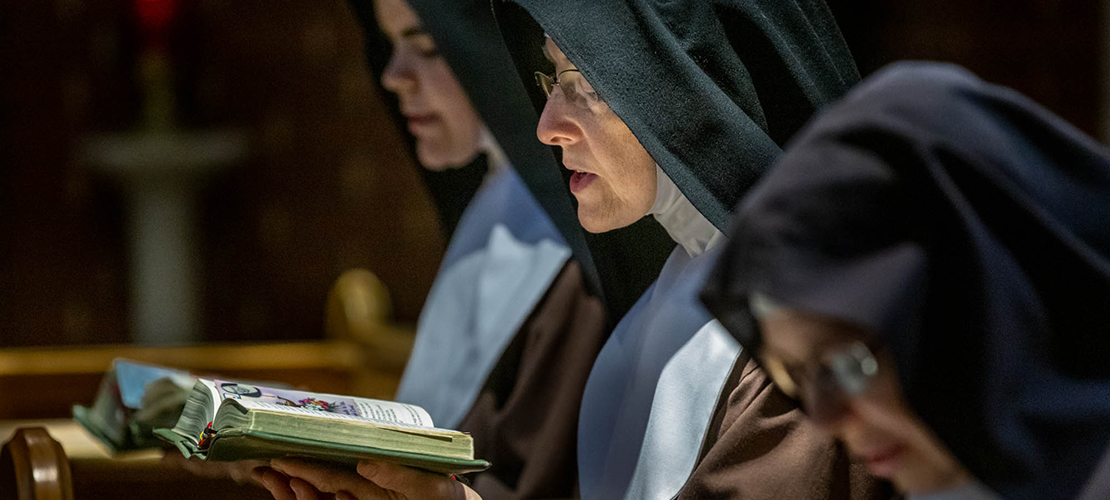 For Poor Clare Nuns, prayer is primary