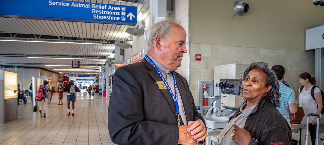 Airport chaplaincy seeks laypeople to go the extra mile for others