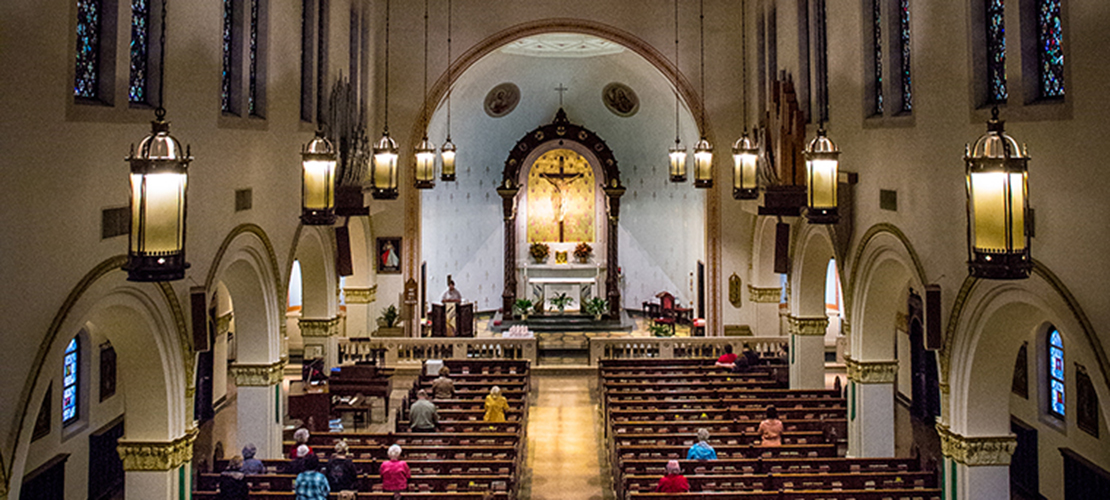 St. John Paull II Parish formed by merger of two parshes in Affton