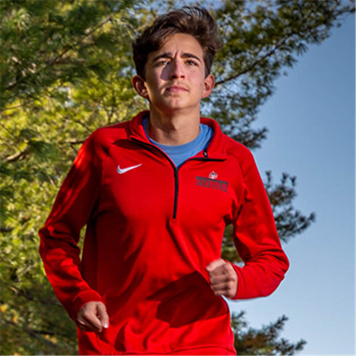 Modest cross country runner from DuBourg High School keeps perspective