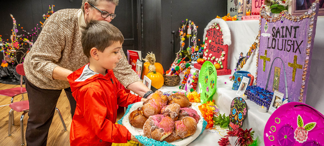 Students at Sacred Heart Villa learn important lessons about Dia de los Muertos