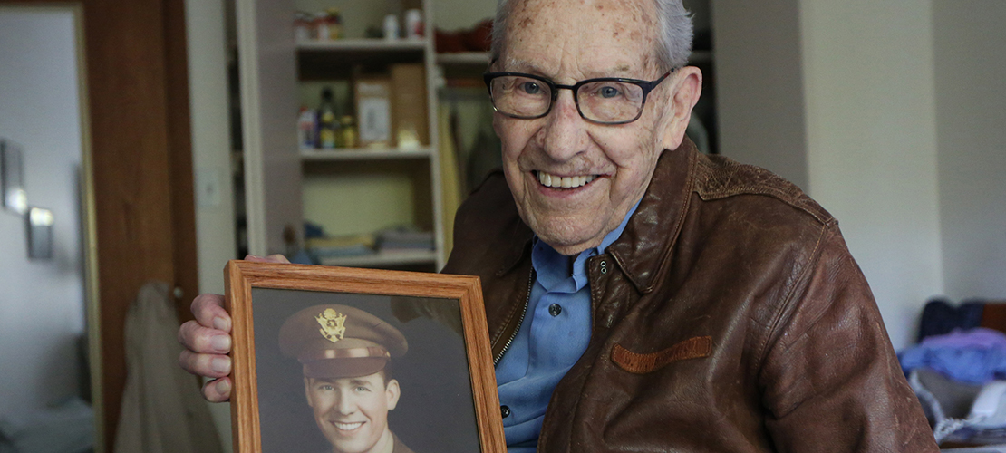 Veteran credits 'Little Flower' with keeping him alive during WWII
