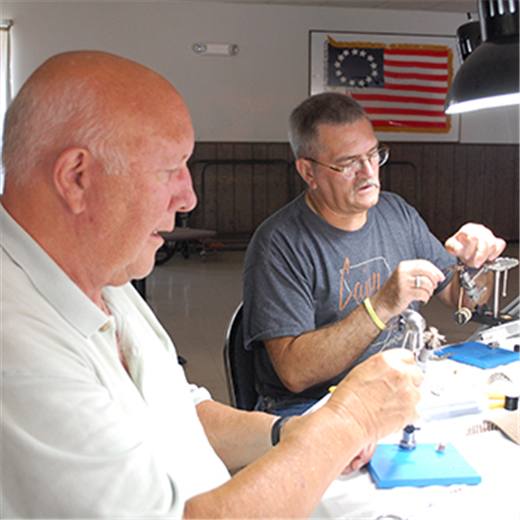 Fly tying gives religious brother a supportive connection to vets