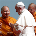 A missionary shares joy, not rules, pope tells Thai clergy, religious