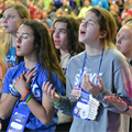 Teens at NCYC embrace volunteer opportunities, take time to help others