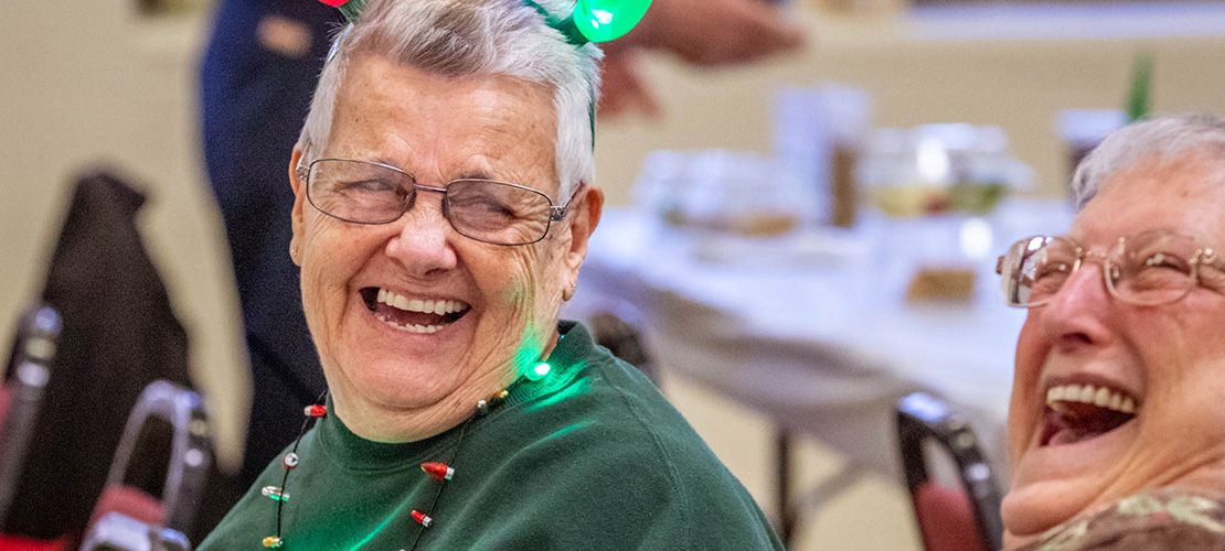 Fellowship, fun greet guests at St. Robert Parish's monthly luncheon for seniors
