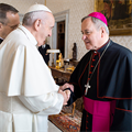 Pope speaks to Abp. Carlson, other U.S. bishops about pro-life issues, transgender ideology