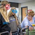 Chemistry lab, classroom update improves collaboration