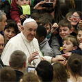 POPE'S MESSAGE | God's kingdom is for the poor in spirit, not the proud of heart