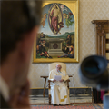 POPE'S MESSAGE | Christ's Gospel can satisfy hunger, thirst for justice