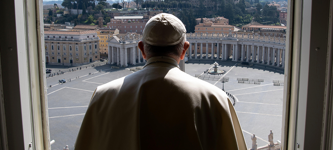 Pope to give extraordinary 'urbi et orbi' blessing March 27