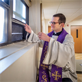 Parishes creative in ensuring safety during confession