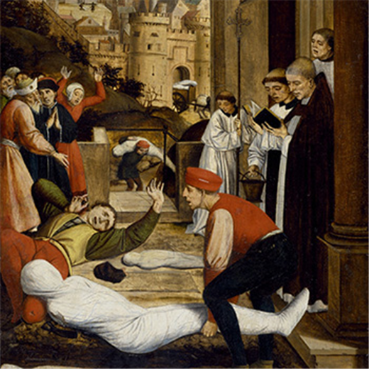 In past, Catholic Church called on saints for help, healing from plagues