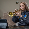 Technology enables high schools to continue band, choral programs