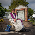 St. Ignatius pastor has taken to the roads to evangelize community during the pandemic