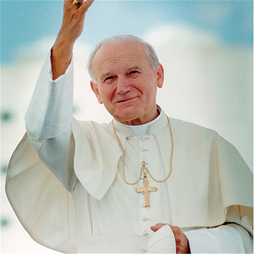 St. John Paul was a good shepherd, pope says on saint's birthday