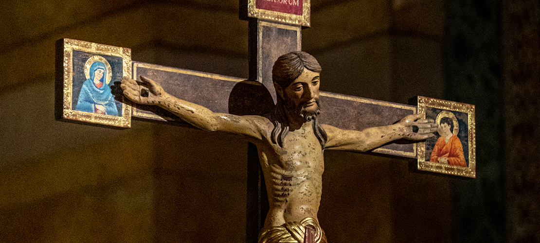 Crucifix blessed during pandemic has roots in northern Italy